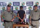 Preso menor que teria participado de furto em farmácia na cidade de Corumbaíba