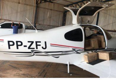 Operação apreende em Goiás avião lotado de celulares e tablets contrabandeados do Paraguai