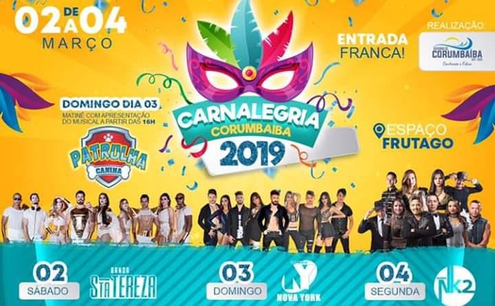 Carnalegria Corumbaíba 2019