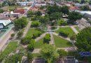 Voo feito com drone sobre Corumbaíba (Praça João Pessoa e Lago Bonito) 23/02/2019